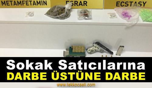 Kocaeli'de Uyuşturucu Tacirlerine Darbe
