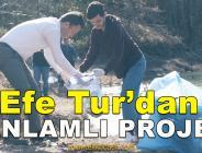 Efe Tur Çalışanları Çöp Topladı