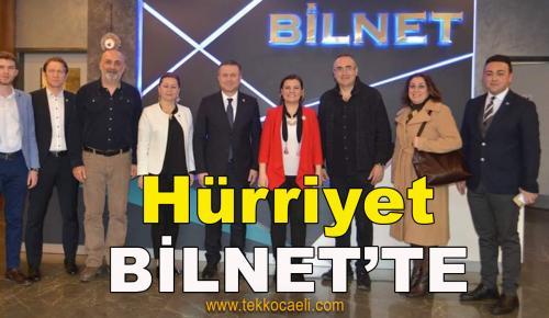 Başkan Hürriyet, BİLNET'in Etkinliğine Katıldı