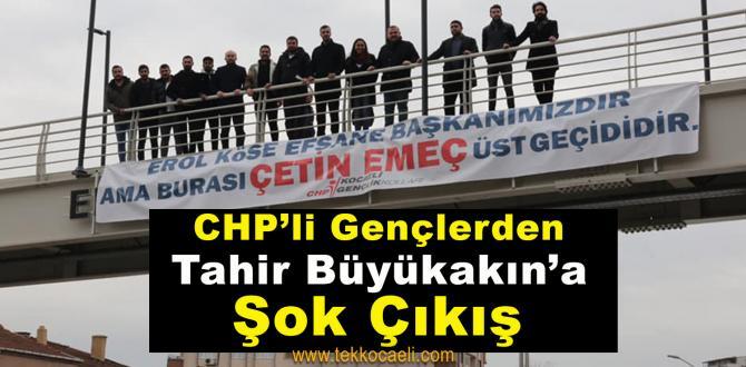 CHP'li Gençlerden Büyükakın'a; 'CHP'yi Dizayn Ettirmeyeceğiz'