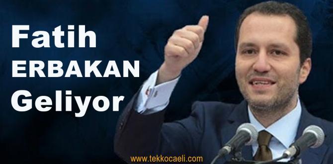 Merhum Başbakan Necmettin Erbakan İzmit'te Anılacak
