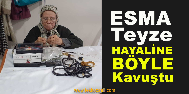 80 Yaşındaki Esma Teyzenin Hayali Gerçekleşti