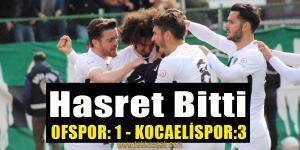 Kocaelispor Ofspor Deplasmanında Güldü