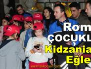 Kocaeli Emniyeti, Roman Çocukları Eğlendirdi