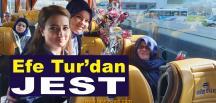 Efe Tur'dan Kadın Yolcularına Jest