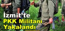 Dağda Eylemlere Katılan Militan Yakalandı
