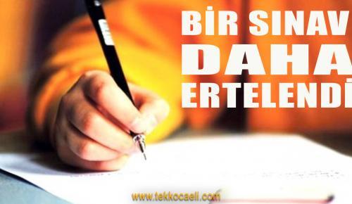 Milli Eğitim Bakanı Açıkladı; O Sınav Ertelendi