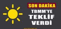 İYİ Parti'den TBMM'ye Flaş Teklif
