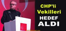 Bekir Yurdagül'den CHP'li Vekillere Şok Çıkış