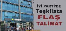 İYİ Parti Teşkilatlarına Talimat
