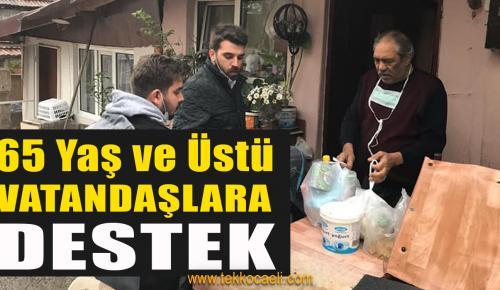 CHP'li Gençlerden İhtiyaç Sahiplerine Destek