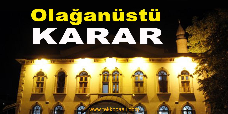 Türkiye'de Olağanüstü Önlem