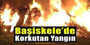 Başiskele'de Korkutan Yangın
