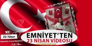 Kocaeli Emniyet'inden 23 Nisan Videosu