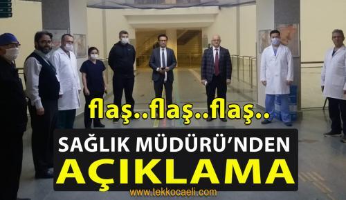 Kocaeli Sağlık Müdürü Ergüney'den Açıklama
