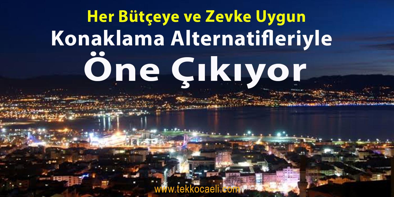 Marmara Bölgesi'nde Dört Mevsim Tatil Olanağı Sunan Zenginliğe Sahip İzmit