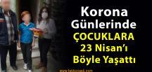 İzmit'li Nurşah Yaşar, 23 Nisan'ı Çocuklara Böyle Yaşattı