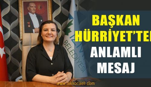 Başkan Hürriyet'ten Bayram Mesajı