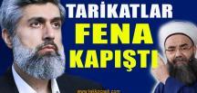 Cübbeli Ahmet, Alparslan Kuytul Kapışması