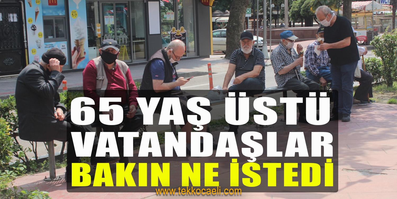 65 Yaş Üstü Vatandaşlar Sokakları Renklendirdi
