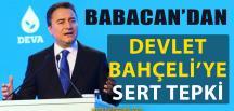 Ali Babacan'dan Devlet Bahçeli'ye Şok Sözler