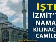İzmit'te Cuma Namazı Kılınacak Camiler Açıklandı