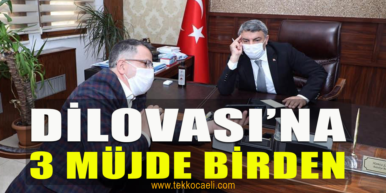 Başkan Şayir'den Dilovası'na Müjdeler