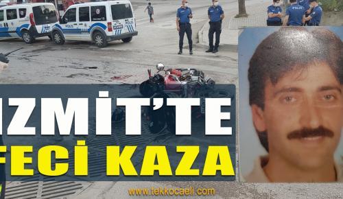 İzmit'te Korkunç Kaza; Ağır Yaralı Var