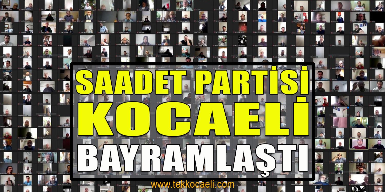 Saadet Partisi Kocaeli Bayramlaştı