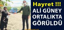 AKP İlçe Başkanı Nihayet Ortalıkta Gözüktü