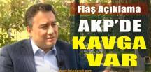 Ali Babacan Açıkladı; AKP'de Nemalanma Kavgası Var