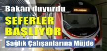Marmaray'da Seferler Başlıyor