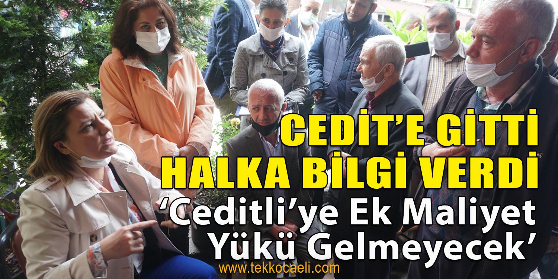 Cedit Halkından Başkan Hürriyet'e Teşekkür