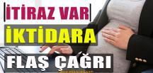 Hamile Kadınların Çalışmasına Tepki Gösterdi