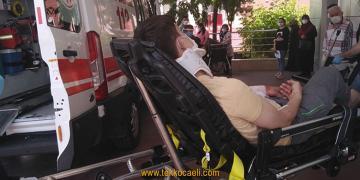 Gölcük'te Korkunç Kaza; Yaralılar Var