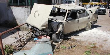 Ölüm Rampasında Korkunç Kaza