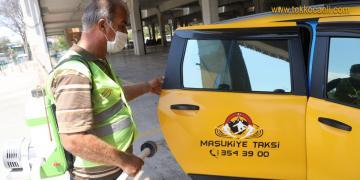 İzmit Belediyesi'nden Ticari Taksilere Büyük Hizmet
