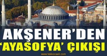 Meral Akşener'den Cumhurbaşkanı Erdoğan'a Ayasofya Göndermesi