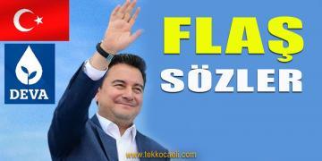 Ali Babacan, Erken Seçim İçin Tarih Verdi