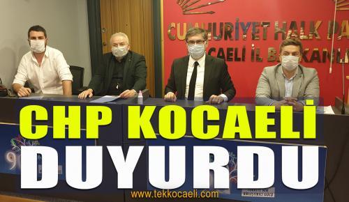 CHP Kocaeli İl Yönetiminde Görev Dağılımı Yaptı