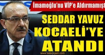 Yeni Kocaeli Valisi Ekrem İmamoğlu'nu VİP'e Aldırmamıştı