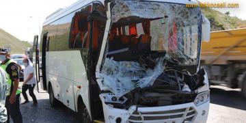 Kocaeli'de Korkunç Kaza; Çok Sayıda Yaralı Var