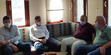 Milletvekili Çakır'dan, Kartepe Turizm Derneği'ne Ziyaret