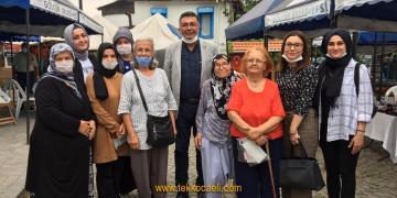 İYİ Partililer, Gölcük Saraylı Köyünde Vatandaşı Dinledi