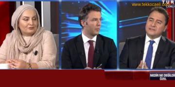 Ali Babacan'dan Habertürk'te Flaş Açıklamalar
