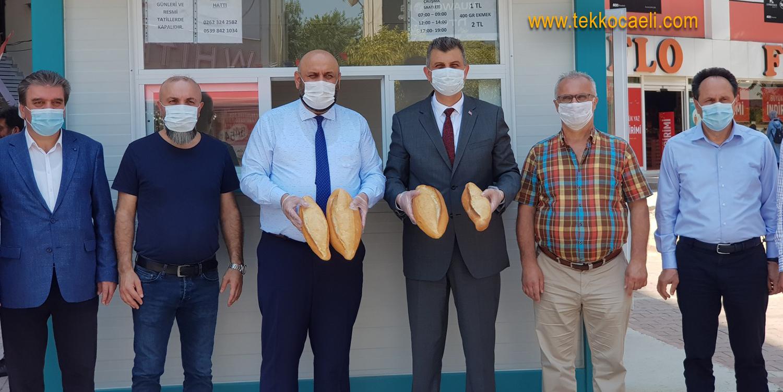 Gölcük'te Halk Ekmek Satışı Başladı