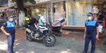 İzmit Belediyesi'nden Motosiklet Sürücülerine Uyarı