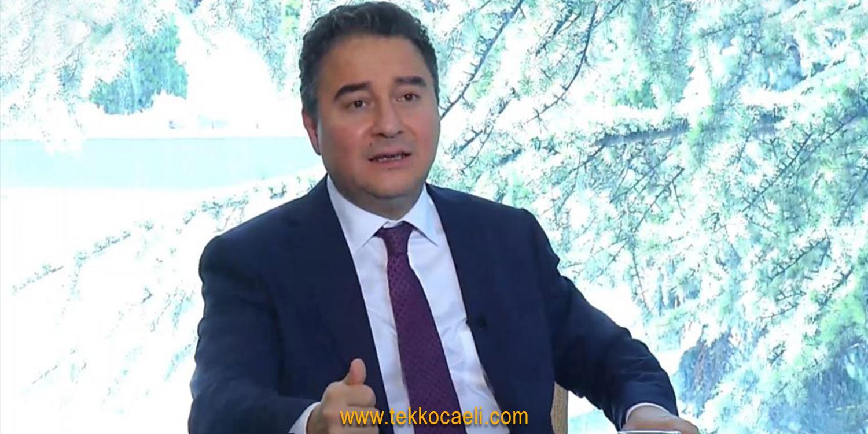Ali Babacan: Sandık Gelecek, Kırmızı Kart Çıkacak