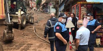 İzmit Belediyesi Vatandaşın Yardımına Koştu