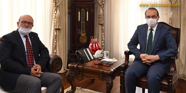 LASTİK-İŞ'ten Kocaeli Valisi Seddar Yavuz'a Ziyaret